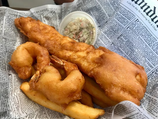 Cape coral restaurants at pete 39 s fish chips you 39 re in for Petes fish and chips menu