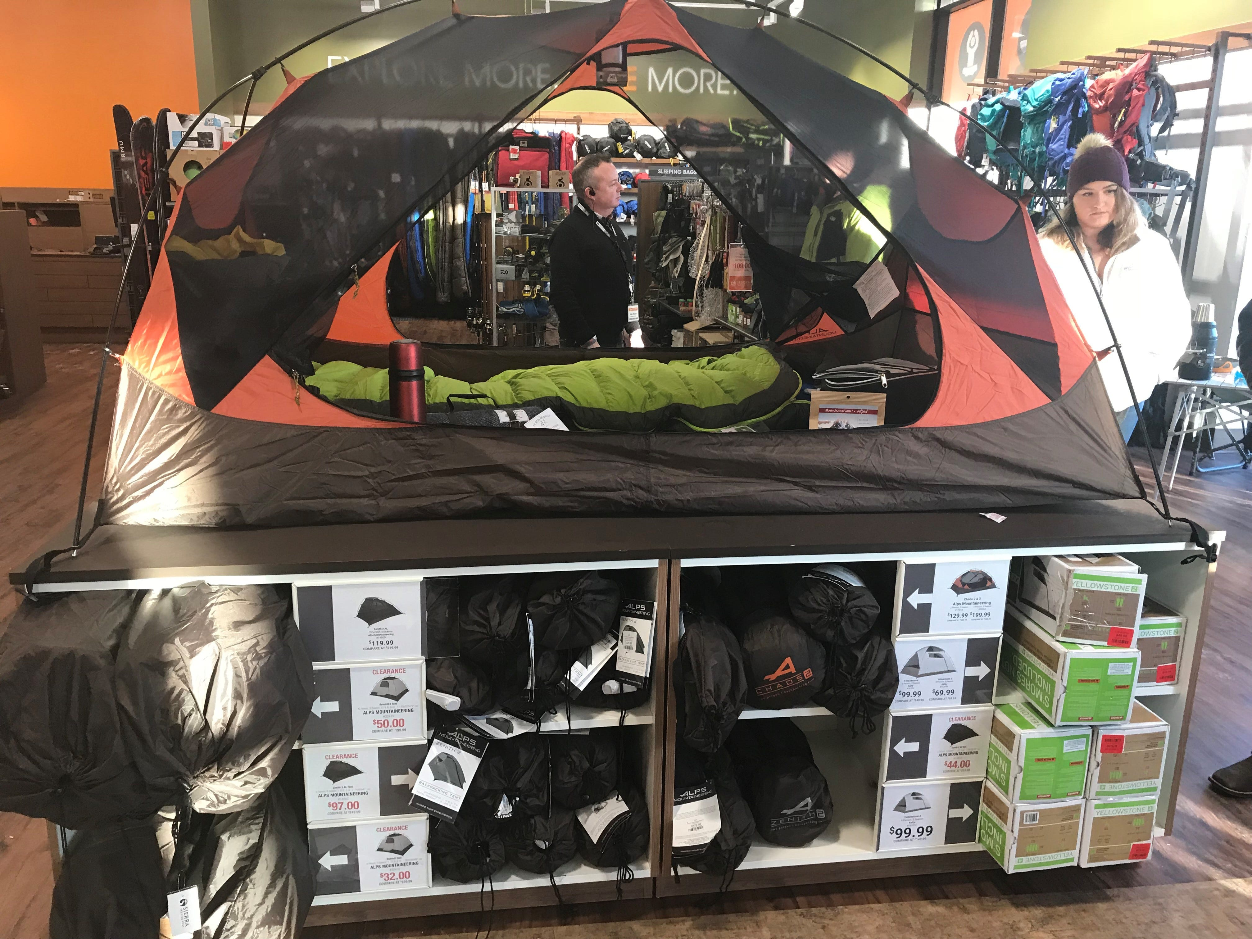 Major tent sale at Sierra Trading Post & Sole by One Hip Chic Forefront Audio open in Brighton; CoreLife ...