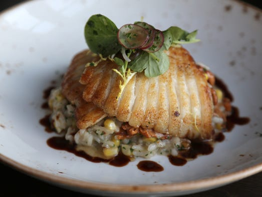 Sauteed skate wing from Chapman House, 311 Walnut,