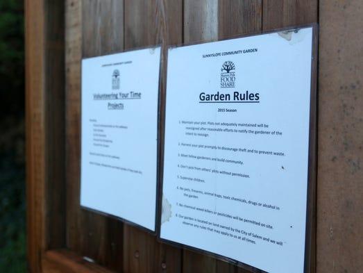 Salem Council votes to save Sunnyslope community garden
