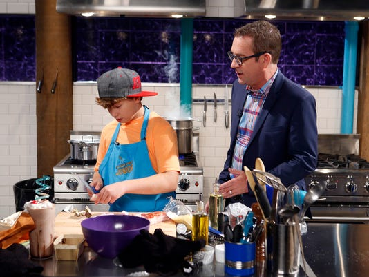Starkville youth on chopped junior host ted allen checks in on junior chef mark coblentz as he cooks with venison tenderloin baby eggplant the biggest chocolate shake ever and cous cous forumfinder Gallery