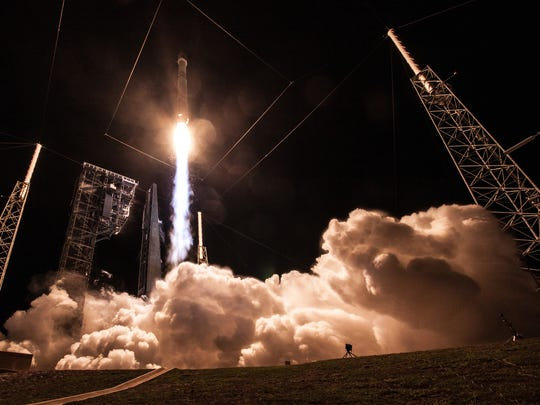On Jan. 20, a United Launch Alliance Atlas V rocket lifted off from Launch Complex 41 carrying the Air Force's third Space-Based Infrared System missile warning satellite. The program's next launch is targeted for mid-January.