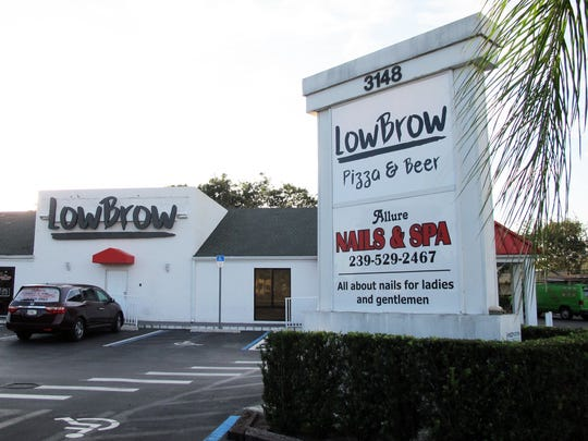 LowBrow Pizza & Beer is targeted to launch in early February 2018 in the former space of Five Guys, 3148 U.S. 41 E., in East Naples.