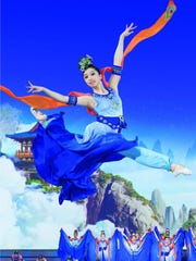 """Shen Yun,"" the the multimillion-dollar spectacle of ""dazzling backdrops"" and ""glorious melodies"" Chinese song-and-dance show bound Dec. 27-28 for the William Saroyan Theatre, is a ""journey through 5,000 years of divinely inspired culture."""