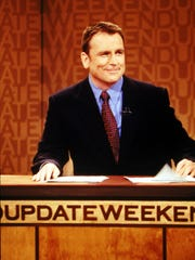 "Colin Quinn anchored Saturday Night Live's Weekend Update segment in the mid 1990s. Saturday Night Live color his take on ethnic diversity in his literary spoof. Colin Quinn, Saturday Night Live cast member and anchor of the show's ""Weekend Update"" feature. --- DATE TAKEN: 1998  By Mary Ellen Matthews   NBC    New York  NY  HO      - handout ORG XMIT: UT78082"