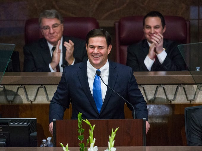 Arizona Gov. Doug Ducey outlined steps to improve education