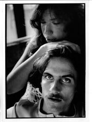 Carly Simon with James Taylor. The singers married