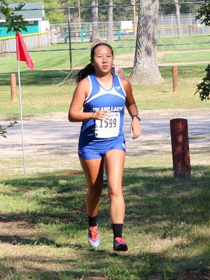 Senior Haivyn Fielder is one of the key returning runners for the Inland Lakes girls cross country team.