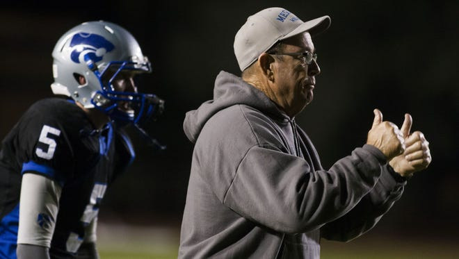 Mesquite coach Jim Jones has an all-star collection of coaches under Jones with Roy Lopez and Tom Joseph new to the staff. His team will face Gilbert on Aug. 28 at 7 p.m. on Cox7.