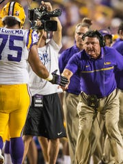 LSU defeated Missouri 42-7 during their homecoming game in Baton Rouge on Saturday, October 1, 2016.
