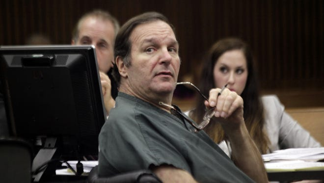 Bob Bashara listens to testimony during his preliminary examination at the Frank Murphy Hall of Justice on Monday, Sept. 9, 2013, in Detroit.