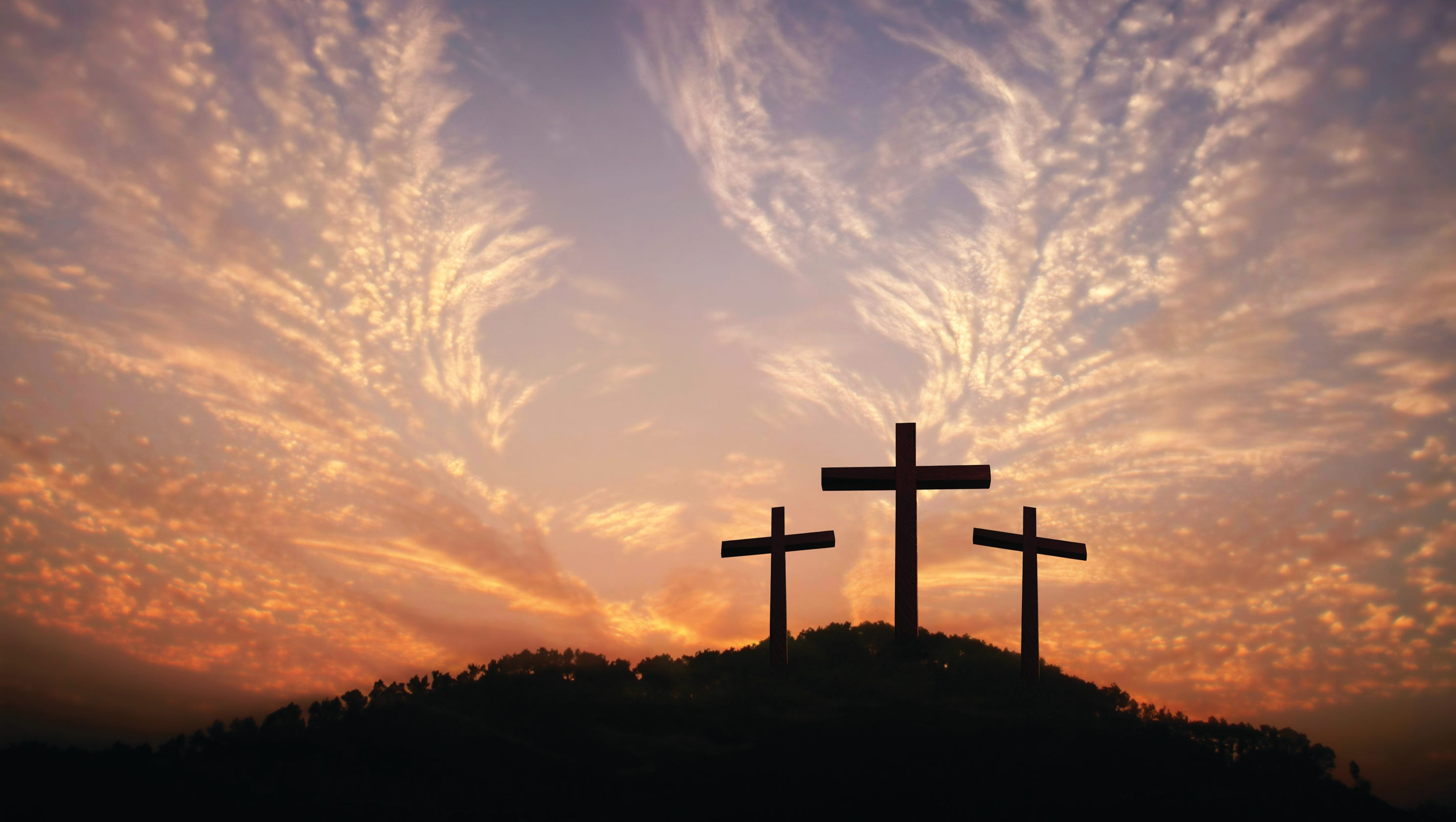 holy week church service listings