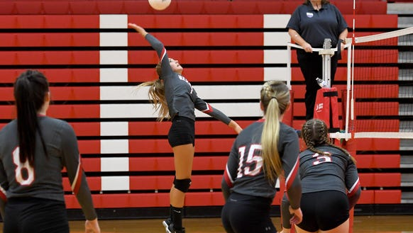 Erwin hosted Roberson in volleyball on Tuesday, Sept.