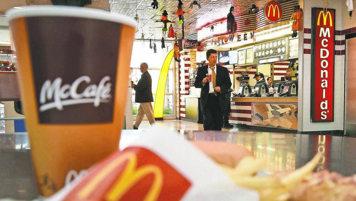 McDonald's offers a variety of premium coffees.