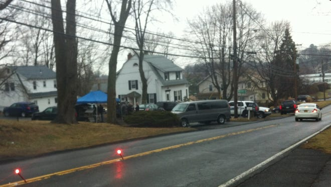Police entered a Babcock Avenue home Friday in Nanuet after a four-hour standoff.