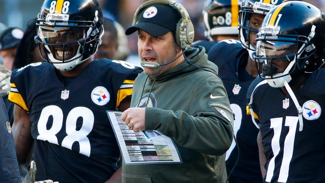 Pittsburgh offensive coordinator Todd Haley has high hopes for the Steelers' offense this season.