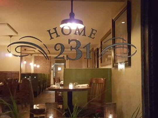 "Home 231, whose owners started Revival Social Club in York, was noted as an ""impressive meal"" with great ambiance."