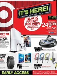 Target's 2016 Black Friday ad.