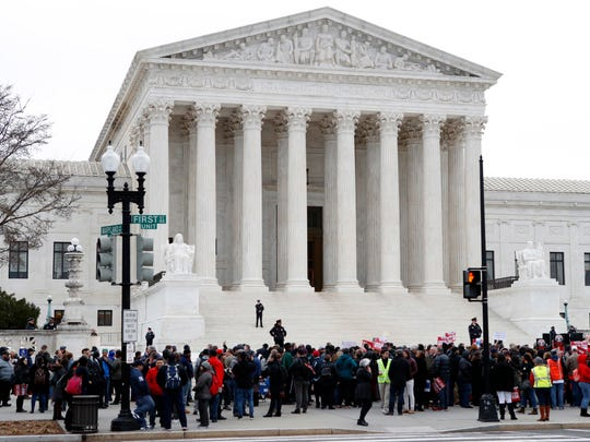 Detained Immigrants the government is considering deporting aren't entitled by law to periodic bond hearings, the U.S. Supreme Court ruled fEB. 27, 2018.