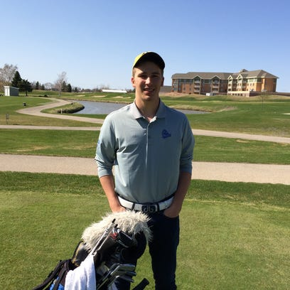 Winnebago Lutheran's Chris Colla is once again playing at a high level to start the boys golf season.