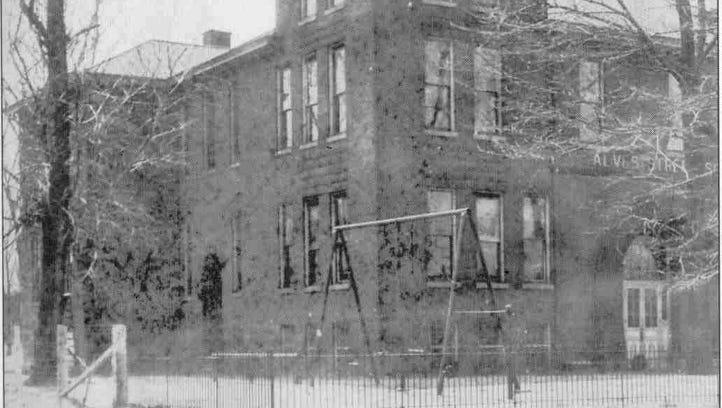 Alves Street School at 424 S. Alves St. was razed 50