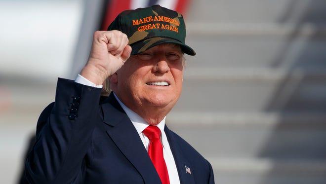 Presidential-elect Donald Trump.