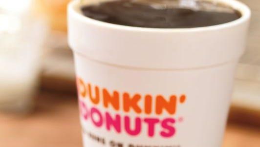 Dunkin' Donuts recently introduced Dark Roast Coffee.
