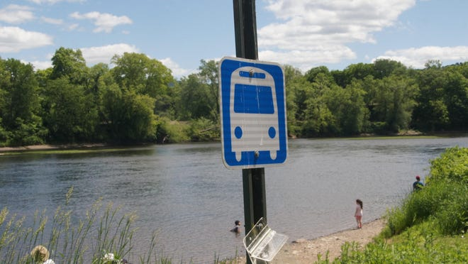 The Bushkill Access in the Delaware Water Gap National Recreation Area is seen on Sunday, June 7, 2020. The Pocono Pony shuttle service within the park will not run in the 2020 summer season. (Photo by Bruce A. Scruton/NewJersey Herald (NJH)]