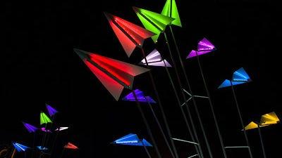 ilight1 - a street light festival example image 1