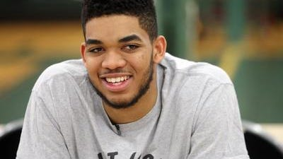 Karl-Anthony Towns is ready for his NBA Draft close-up