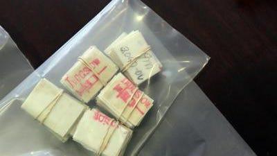 """Heroin """"decks"""" or individual doses"""