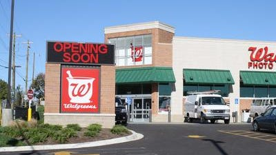 Walgreens store located at 1825 Dixie Highway on the corner of Dixie and Kyles Lane,