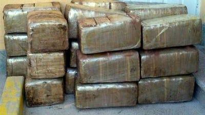 La droga fue hallada en paquetes en un inmueble en la Colonia Ferrocarrilera en Culiacán, Sinaloa.
