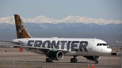 Frontier Airlines today said it plans to begin service between Phoenix and Cincinnati.