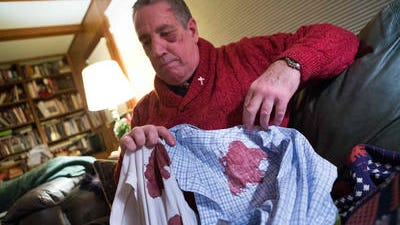 Rock Peters claims New Castle County Police used excessive force when he was arrested.