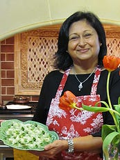 """Intro to Indian Vegetarian Cooking"" by Urvi Upadhyay is 1-3 p.m. June 9 at McKee Botanical Garden. In India, it is believed a meal shared is a blessing multiplied."