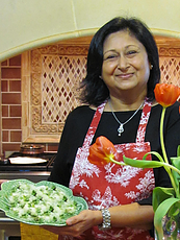 """""""Intro to Indian Vegetarian Cooking"""" by Urvi Upadhyay is 1-3 p.m. June 9 at McKee Botanical Garden.In India, it is believed a meal shared is a blessing multiplied."""