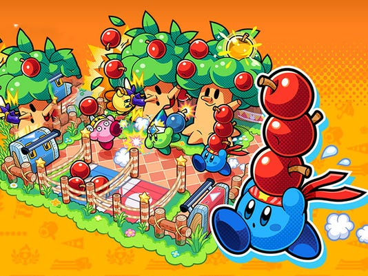 Kirby: Battle Royale for Nintendo 3DS.