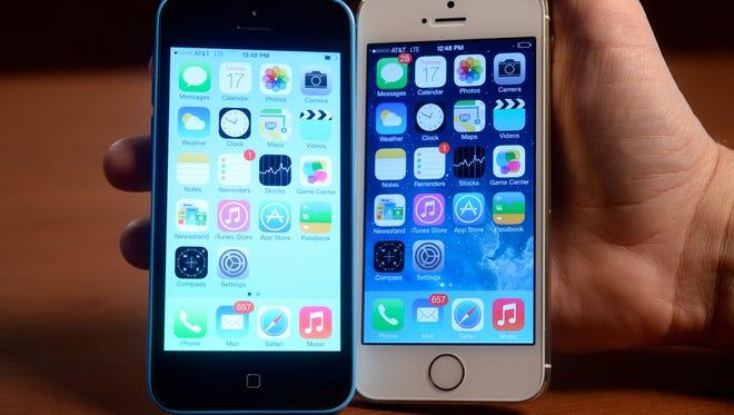 Apple's new iPhone models.
