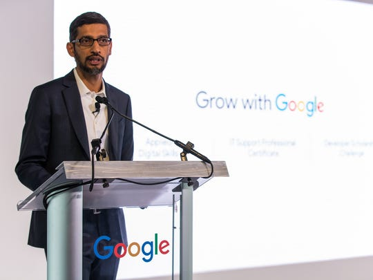 CEO Sundar Pichai says Google has made $1 billion philanthropic