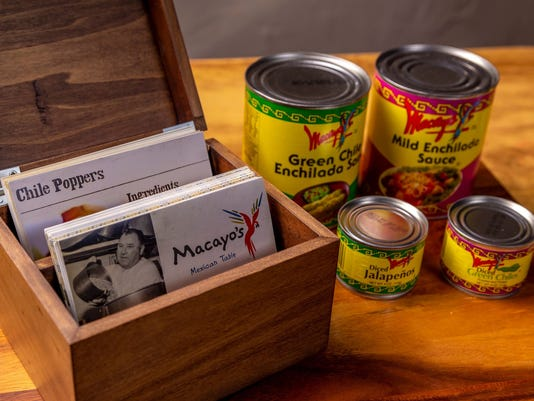 Macayo Recipe Box
