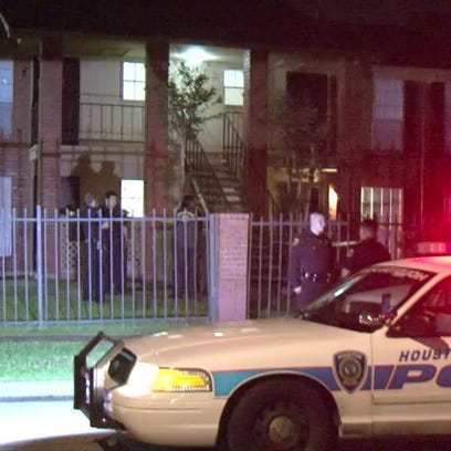 HOUSTON - A toddler was found alone with his deceased