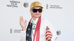 Roseanne Barr attends the premiere of her documentary: