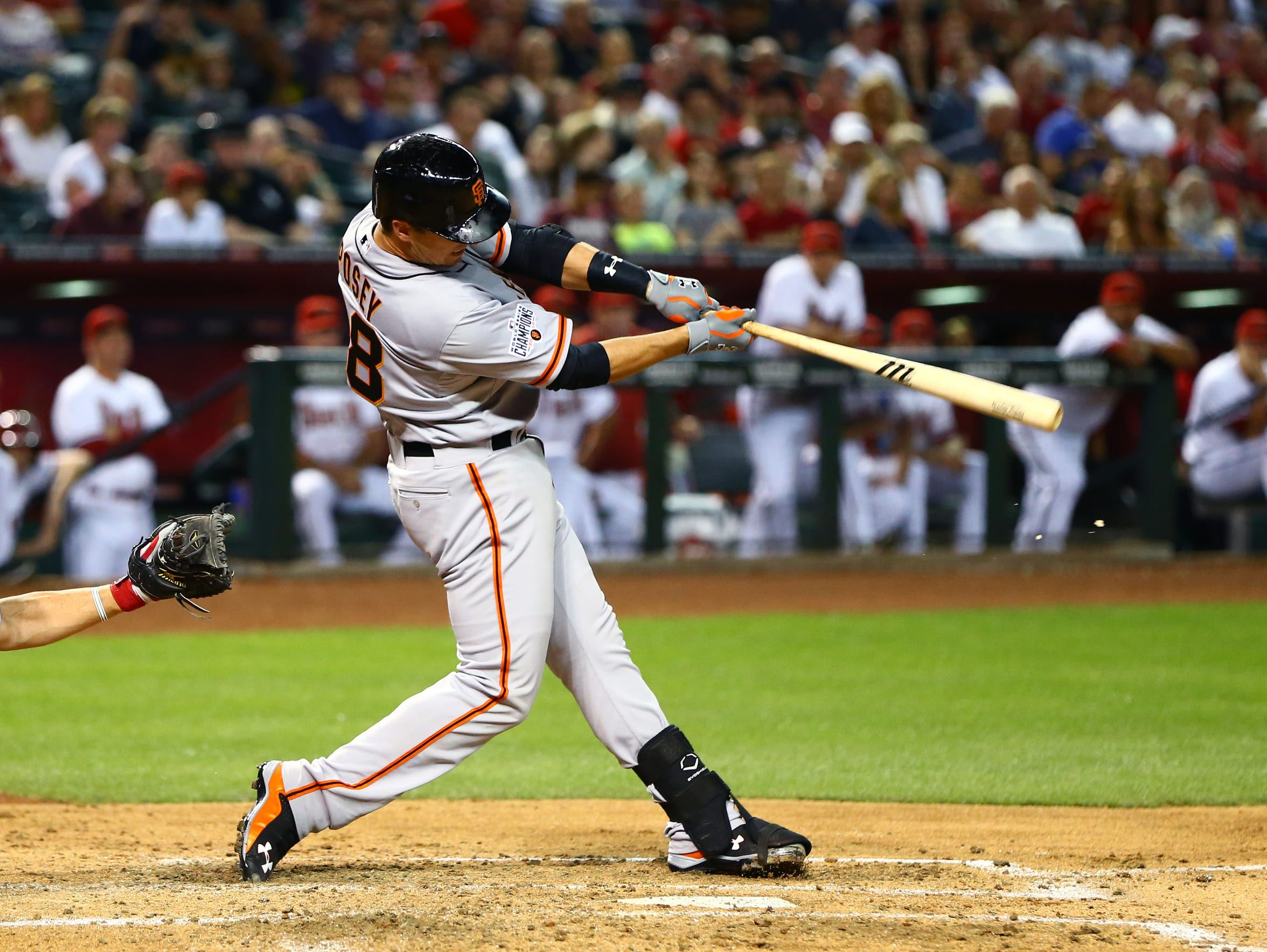 Posey finished fourth in the NL in batting average