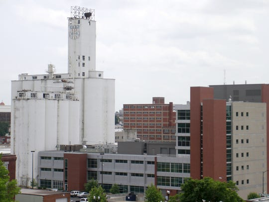 Missouri State University owns 21 silos adjacent to
