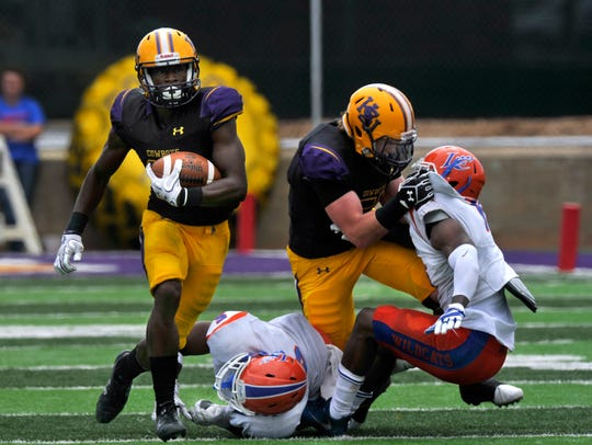 Hardin-Simmons University running back Jaquan Hemphill