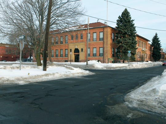 The former school at First Street and Central Park is now the 36-unit Susan B. Anthony Apartments.