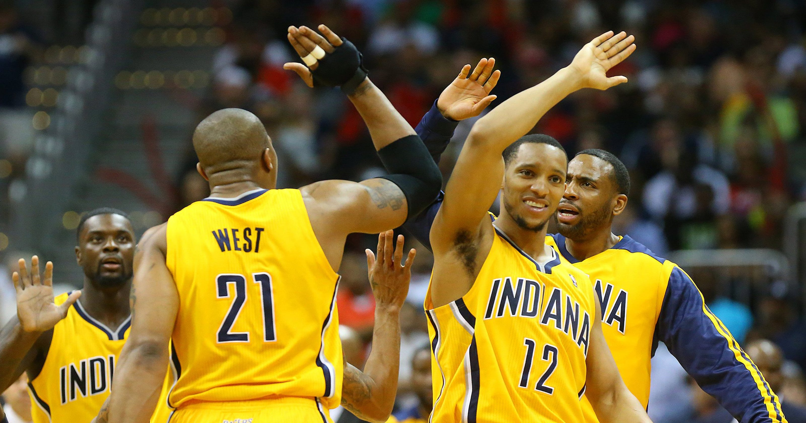 Pacers even series 2-2 with 91-88 win over Atlanta 0871110c7