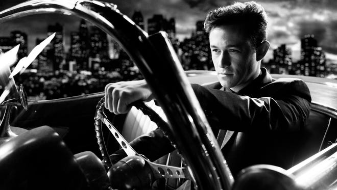 Joseph Gordon-Levitt tries his luck in Basin City in 'Sin City: A Dame to Kill For.'