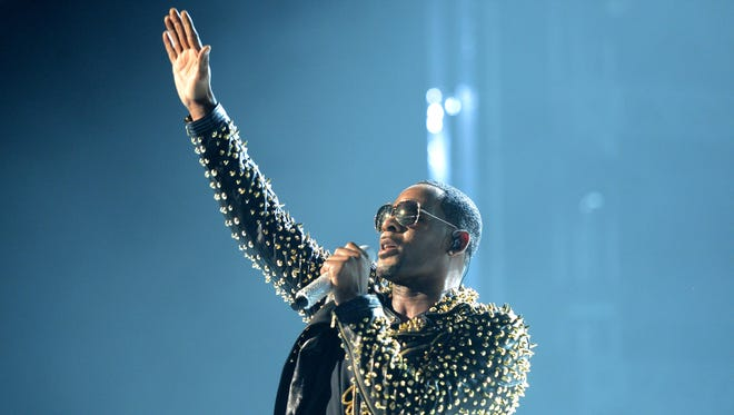 R. Kelly performs at the BET Awards on June 30, 2013, in Los Angeles.